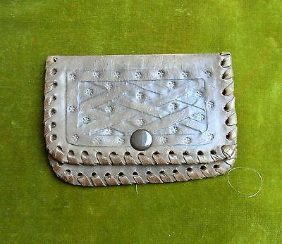 Vintage Leather Coin Purse.