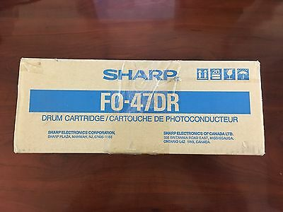 Genuine New Sharp FO-47DR Drum Cartridge FREE SHIPPING
