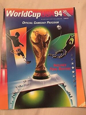 World Cup USA 94 1994 Official Game Day Program Programme