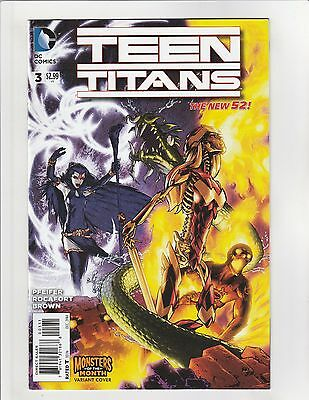 Teen Titans (2014) #3 VF/NM 9.0 Monsters Variant DC Comics New 52