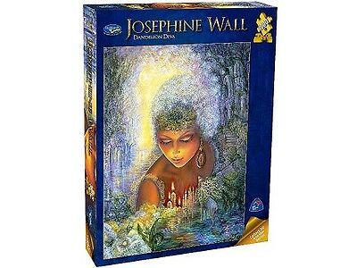 Holdson 1,000 Piece Jigsaw Puzzle - Josephine Wall: Dandelion Diva