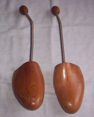 Vintage Wooden Pair Of shoe stretchers size 11-12