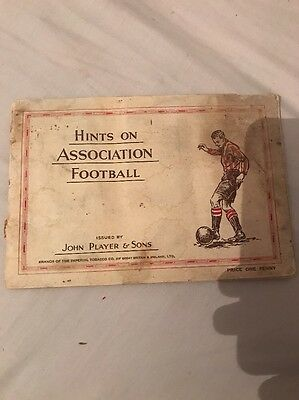 John Player & Sons Football Tobacco Cards In Book Complete Set