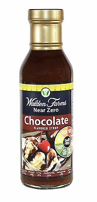 Walden Farms Low Calorie Chocolate Syrup, Low Carb, Sugar Free, Fat Free