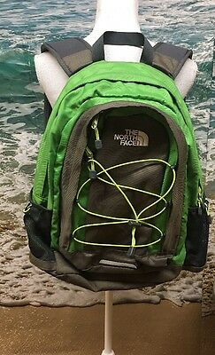 The North Face Jester Backpack: Gray/ Green