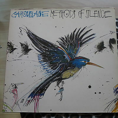 "Camouflage ‎""Methods Of Silence"" (SynthiePop,‎ Vinyl Album, Metronome, 1989)"