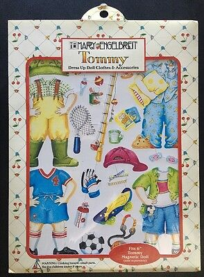 Mary Engelbreit Paper Dollhouse Accessories-Tommy Dress Uo Clothes Magnetic RARE