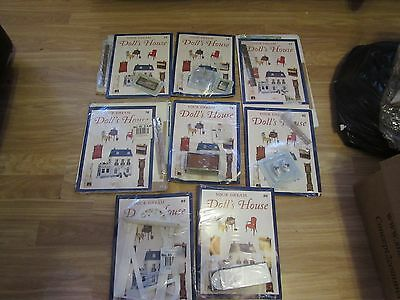 8 Your Dream Doll's House Magazines/furniture 75/76/77/78/79/81/85/86 Del Prado