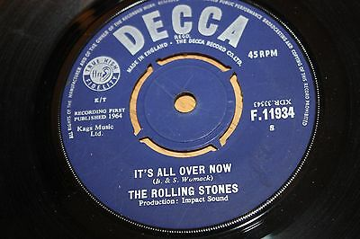 The Rolling Stones - It'S All Over Now / Good Times Bad Times - Very Good