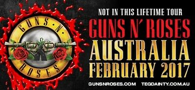 Guns N Roses | MELBOURNE | Premium Reserved M48 Tickets x 2