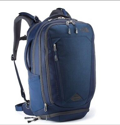 The North Face Overhaul 40 Backpack: Cosmic Blue/ Gray