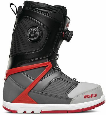 ThirtyTwo 32 - Focus BOA | 2016 - Mens Snowboard Boots | Grey / Black / Red