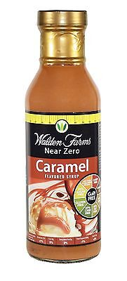 Walden Farms Low Calorie Caramel Syrup, Low Carb, Sugar Free, Fat Free