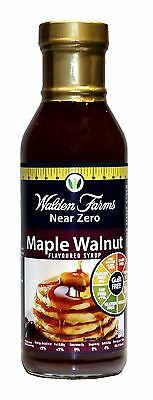 Walden Farms Low Calorie Maple Walnut Syrup, Low Carb, Sugar Free, Fat Free