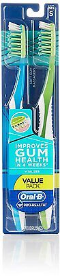 Twin Pack Oral-B Pro-Health Toothbrush ~ Vitalizer ~ Soft ~ 2 Toothbrushes