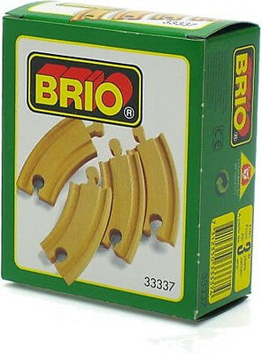 NEW BRIO Short Curved Track #33337 for Thomas the Tank Engine Wooden Train Sets