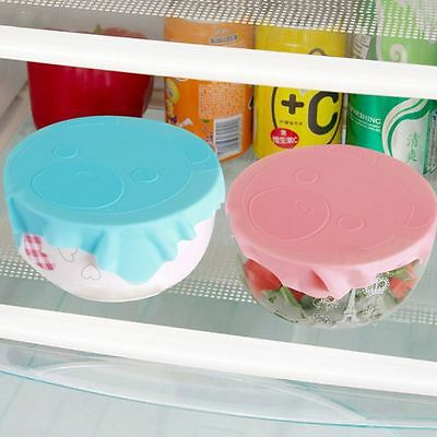 Multifunctional Film Bowl Cute Sealing Cover Reusable Plastic Wrap Silicone
