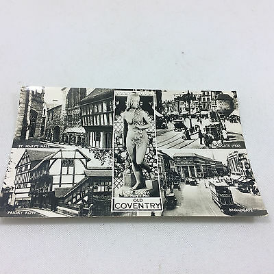 Vintage Old Coventry Postcard Real Photograph