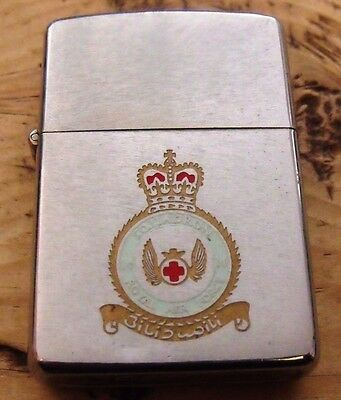1977 Royal Air Force 14 Squadron Zippo Lighter