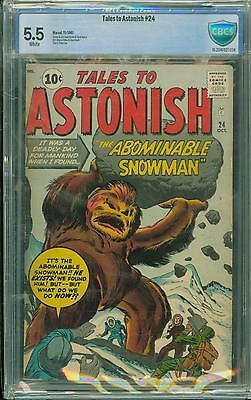 Tales To Astonish #24 [1961] Certified[5.5] Classic Cover