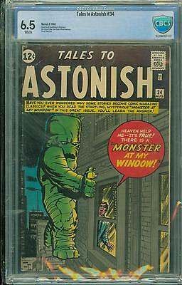 Tales To Astonish #34 [1962] Certified[6.5] Classic Cover