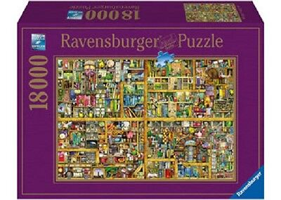 Ravensburger 18,000 Piece Jigsaw Puzzle - Colin Thompson: The Magical Bookcase