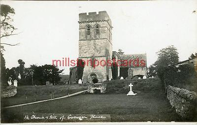 Real Photographic Postcard Of The Church, Cumnor, (Near Oxford), Berkshire 2