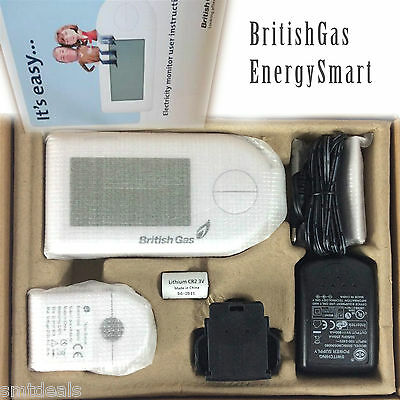 British Gas Full Colour Home Energy Smart Electricity Monitor - No Brochure