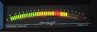 Dorrough Model 40-A Loudness Monitor  Vu Meter   Excellent Condition