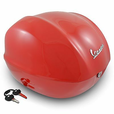 Piaggio 1B00001600R7 Dragon Red Top Box for Vespa Primavera & Sprint