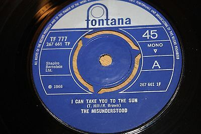 The Misunderstood - I Can Take You To The Sun / Who Do You Love - Vg++