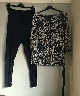 next maternity size 12 leggings and top