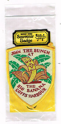 Collectable Cloth Patch The Big Banana Coffs Harbour