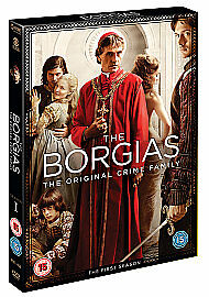 The Borgias - Series 1 - Complete (DVD, 2011, 3-Disc Set) NEW AND SEALED REG 2