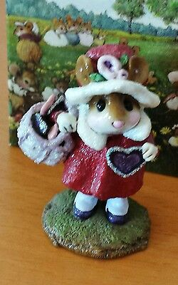 "Wee Forest Folk M-318 ""Have A Heart"" Limited Edition Mint"