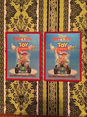 2 Disney On Ice Toy Story Patches Feld Entertainment