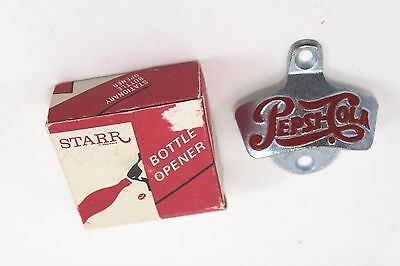 Vintage Starr Pepsi Wall Opener With Box