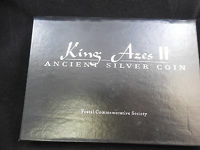 King Azes Ii Ancient Silver Coin