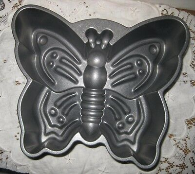 **nordic Ware Butterfly Non-Stick Cake Pan Bakeware Mold 9 Cups**