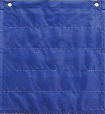 "Carson-Dellosa Publishing Daily Standards Pocket Chart 13"" x 14"" Blue New"