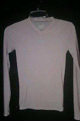 UNDER ARMOUR pale pink girlls 7/8  good condition ITEM # 202