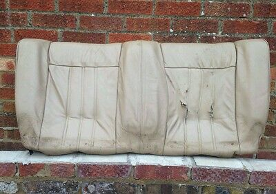 Rear Leather Seat BMW E30 Convertible