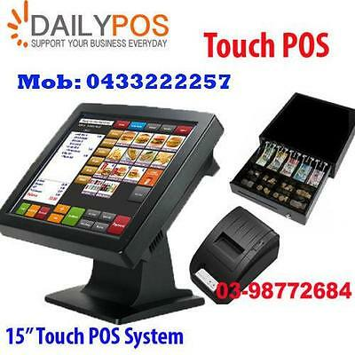 Touch Screen Point of Sale System POS Restaurant Cafe fish Chips Pizza Takeaway