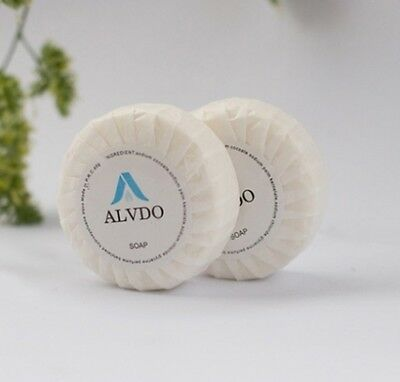 Aldvo A201 Pleat-Wrapped Round Soap Bar in Carton of 400 Pieces 15g Each