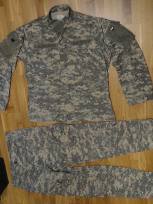 Us Army Large Regular Uniform Special Forces Acu Ucp Hose Jacke, Vest Reo Jeep