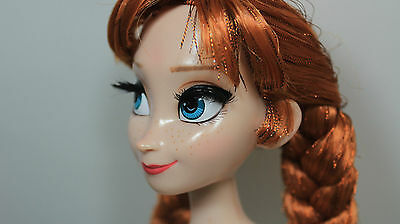 "Disney Store Limited-Edition 17"" Anna Collector Doll LE 5000 NUDE"