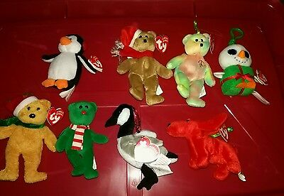 Lot of TY jingle beanies with tags