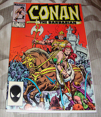 Conan the Barbarian #173 (Aug 1985) Marvel Comic, Very Fine