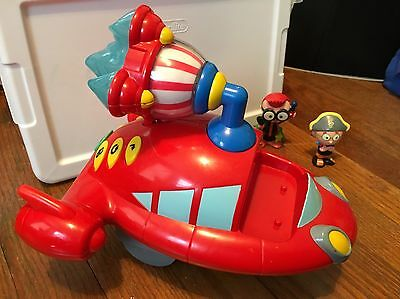 Disney Little Einsteins Rocket Ship With Sounds And 2 Leo Figures