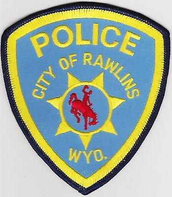 City of Rawlings Police Wyoming WY patch NEW